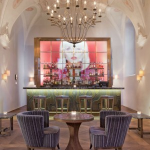 Praga Augustine hotel refectory bar - The Style Lovers