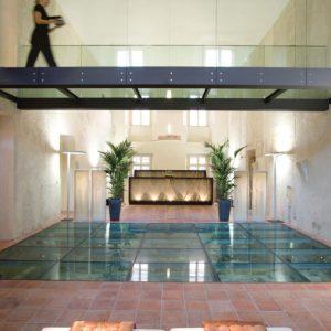 Praga Mandarin Oriental spa lobby - The Style Lovers