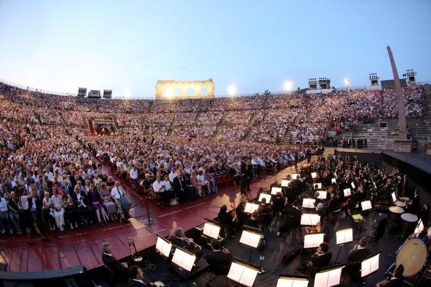 Una serata all'Arena di Verona_Aida_Foto Ennevi