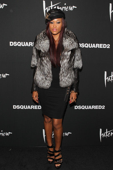 Ladies Rocking The Fur Coat Trend During The 2013 2014