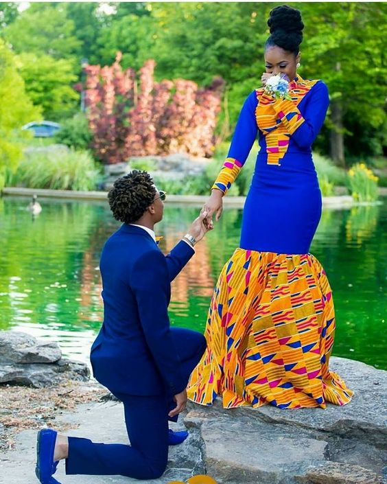 #Slayed - 30 Times African Print Prom Dressed Stole The Scene 10