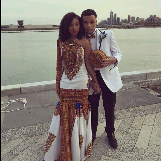 #Slayed - 30 Times African Print Prom Dressed Stole The Scene26
