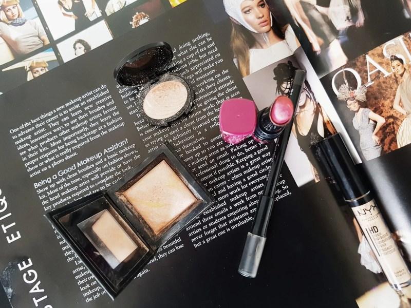 makeup to follow