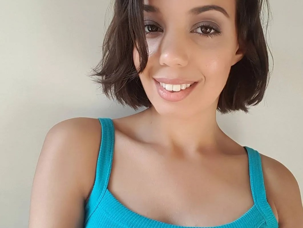 I chopped away my hair…