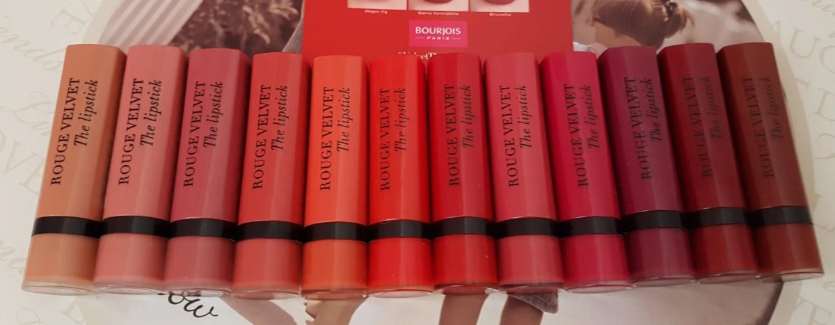 The new Bourjois lipsticks: Rouge velvet review
