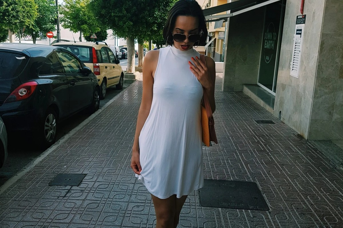 women wearing white dress Ibiza