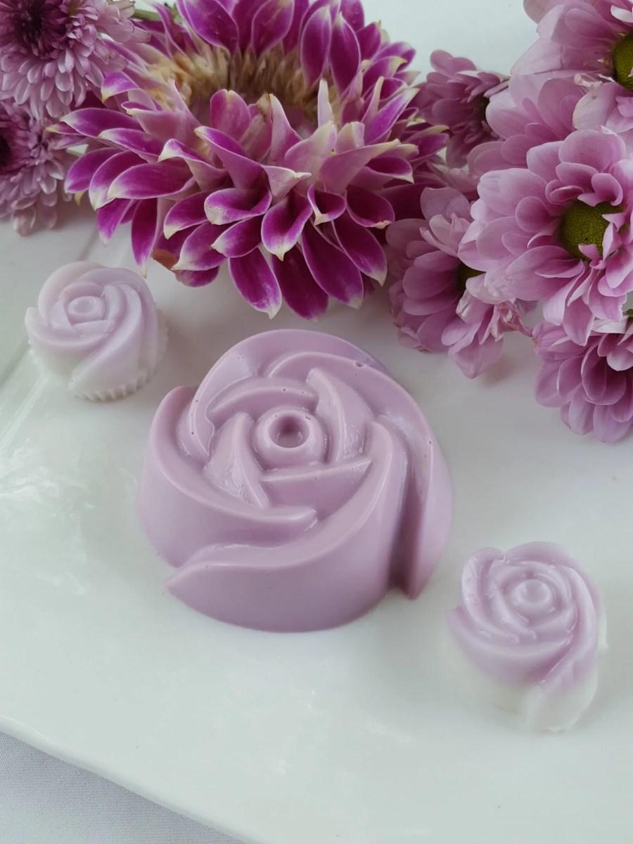 Vegan Lavender Coconut Jelly
