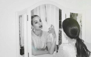 How I changed my life - black and white in mirror - The Style of Laura Jane