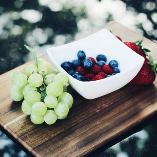 Sugar alternatives - fruit platter - The Style of Laura Jane