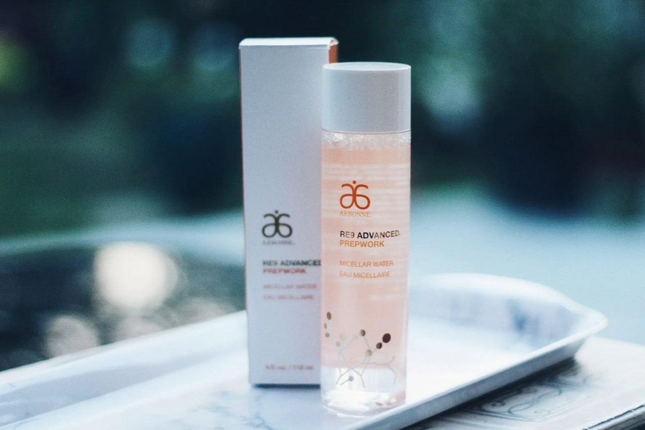 New Arbonne cruelty free skincare products Micellar Water - beauty blog UK - The Style of Laura Jane