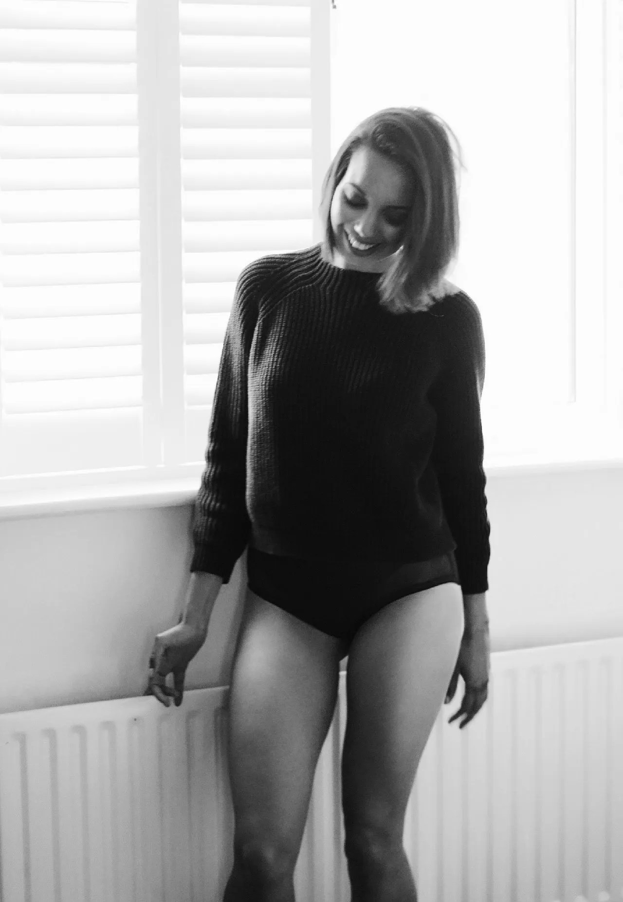 black and white photo - women's lifestyle blog UK - The Style of Laura Jane
