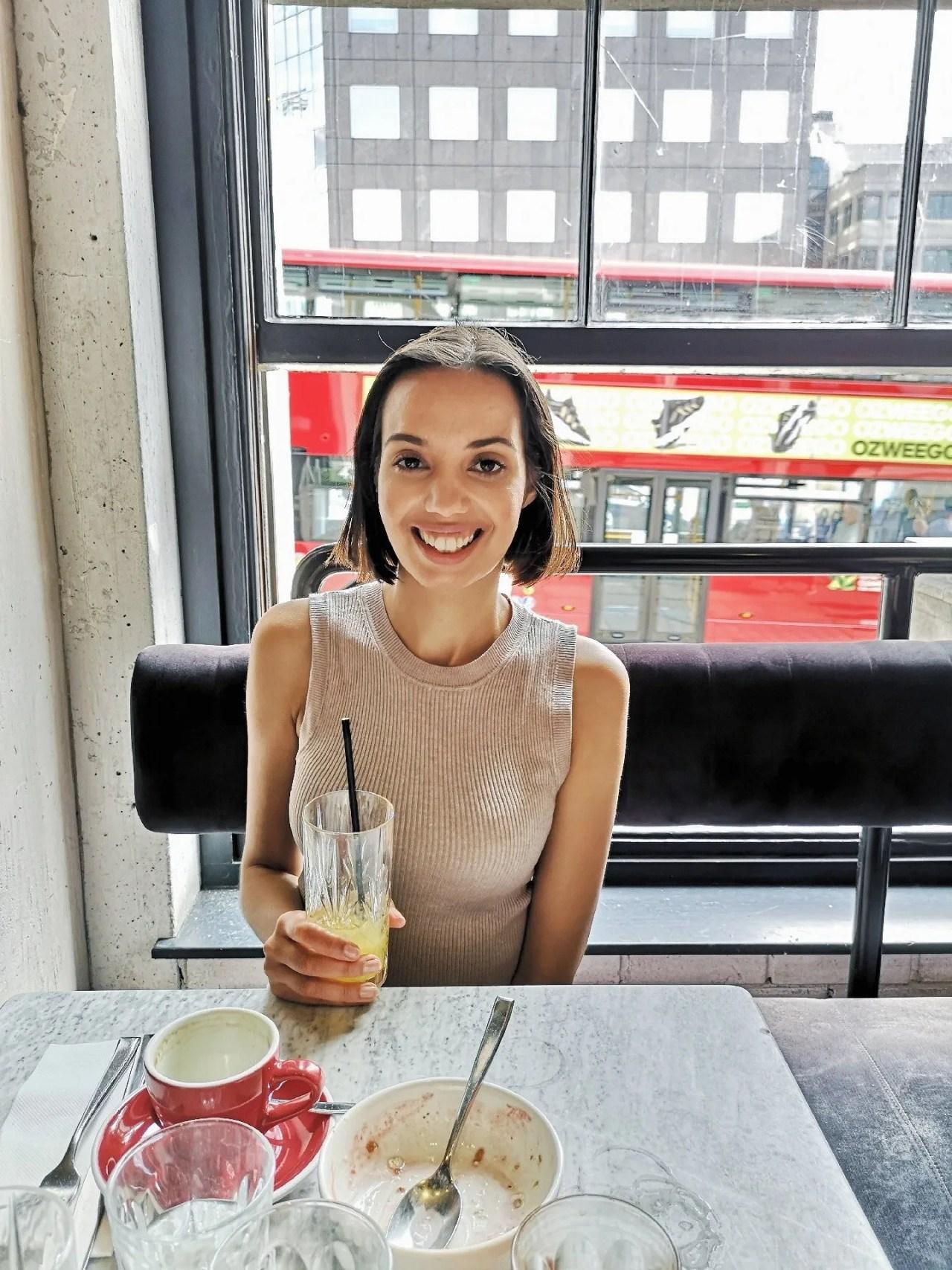 veganism- breakfast smoothie bowl, black Americano - The Style of Laura Jane - women's lifestyle blog UK