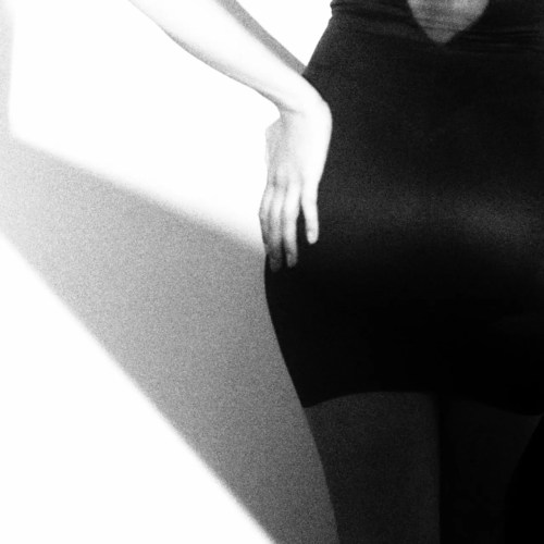 black and white image of a girl from behind for blog on guys best sex experiences