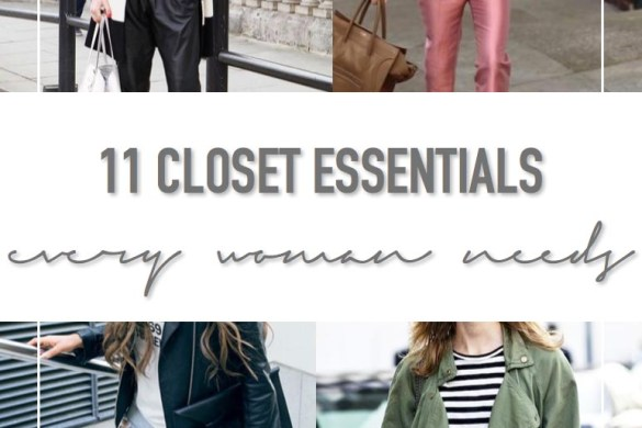 11 Closet Essentials Every Woman Needs