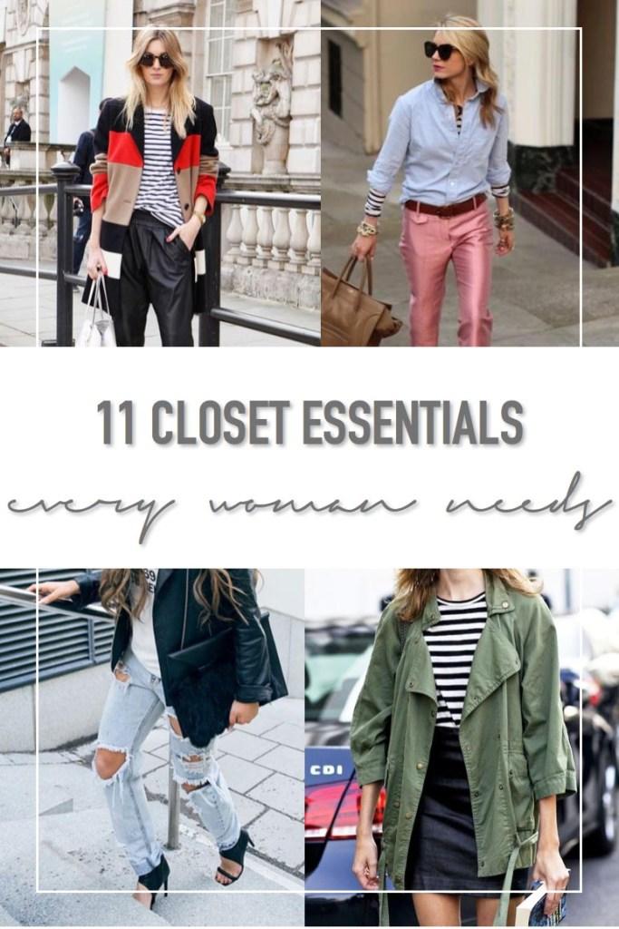 11 Closet Essentials Every Woman Needs