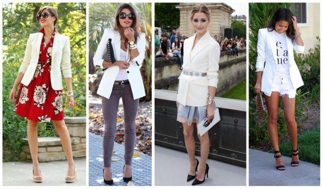 How to wear a white blazer, closet essentials // thestylesafari.com