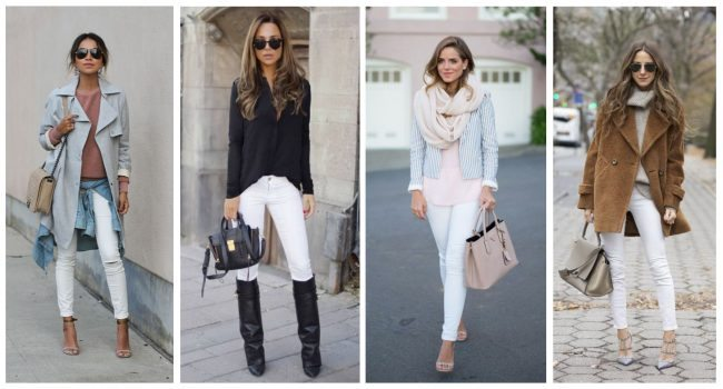 how to wear white skinny jeans, closet essentials // thestylesafari.com