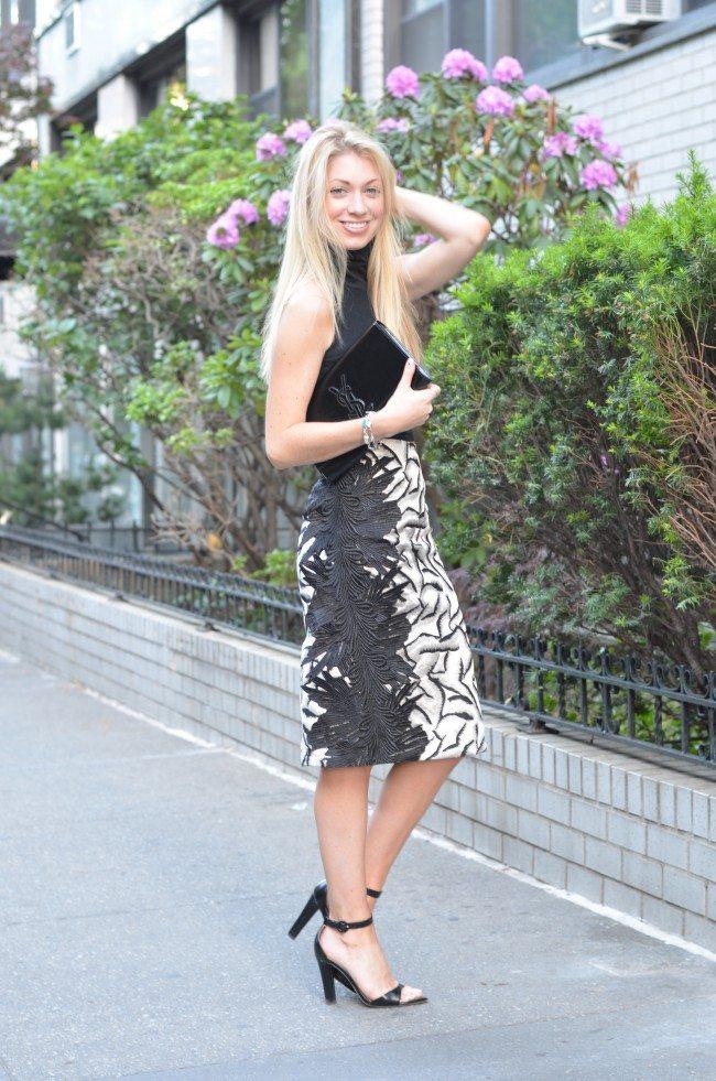 DIY pattern skirt // thestylesafari.com