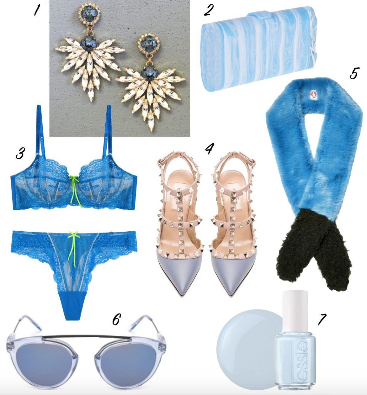 7 'something blue' options for your wedding // thestylesafari.com