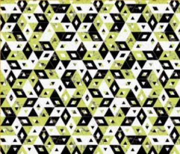 lime green black marbleized triangles print // thestylesafari.com