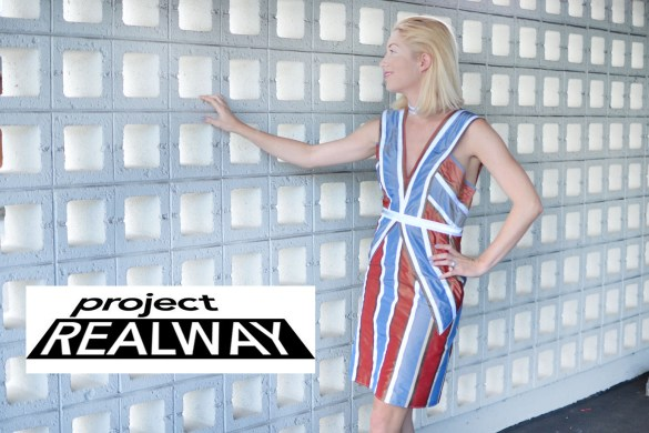 Project Real Way Daylight Blacklight challenge, Project Runway season 15 episode 3 // thestylesafari.com
