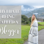 why i hate being called a blogger // thestylesafari.com