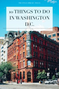 10 Things to Do in Washington D.C.