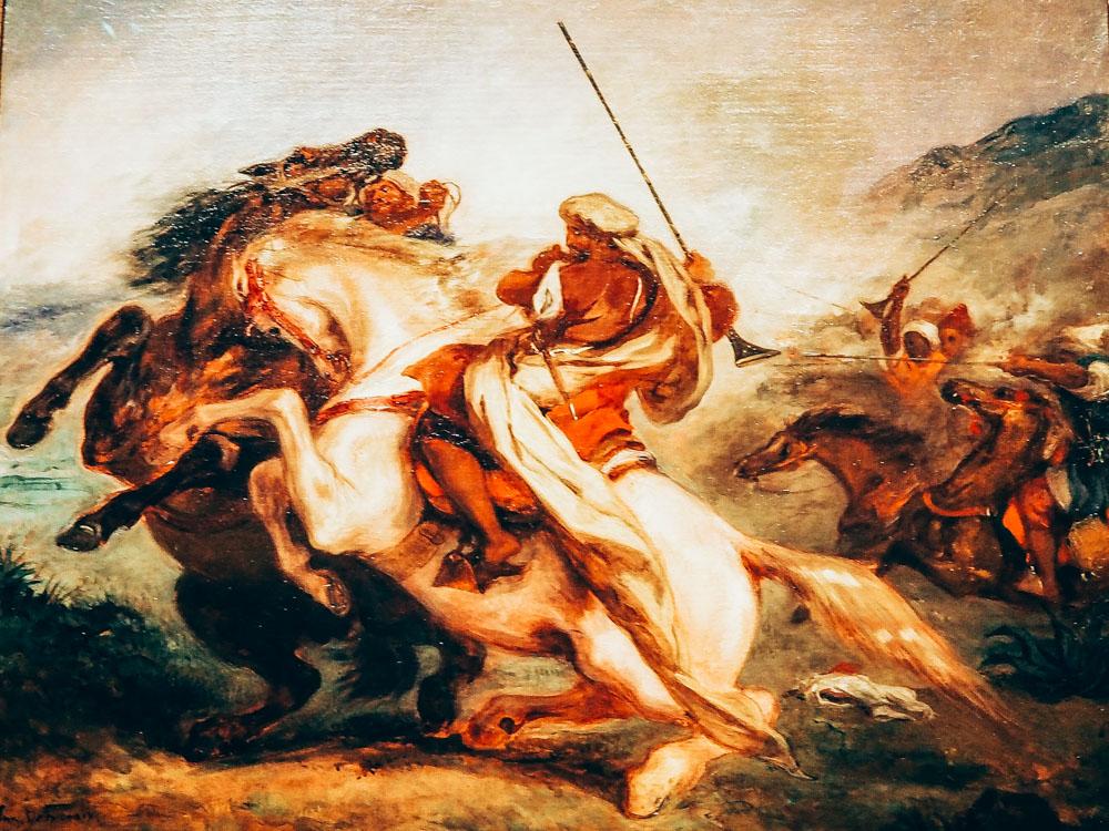 Delacroix Fantasia Marocaine