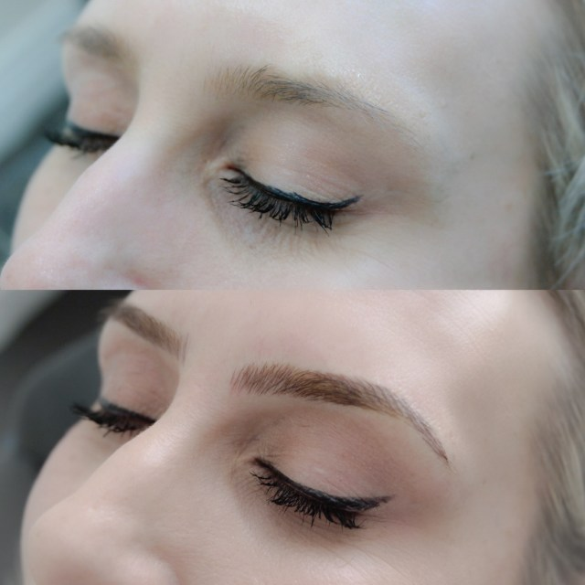 The Style Trust_Feather Touch Eyebrows_Before and after