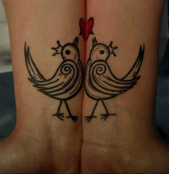 couples-tattoos-love-birds