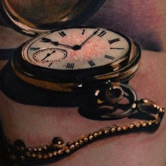 tattoo-3d-clock