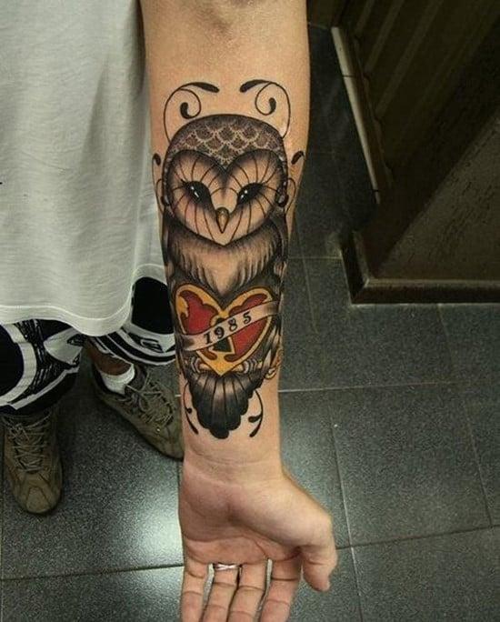 1-owl-forearm-tattoos
