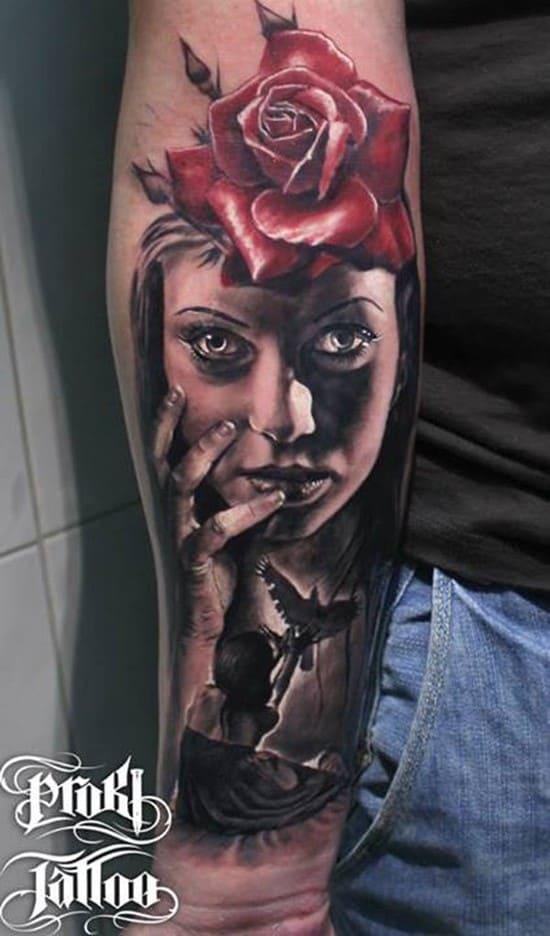 40-3D-Forearm-Tattoo