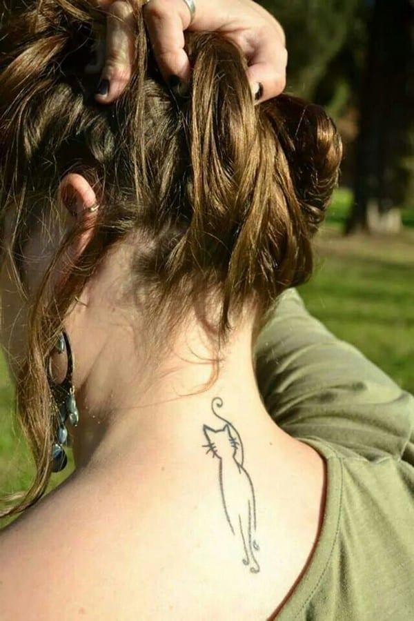AD-Minimalistic-Cat-Tattoos-23
