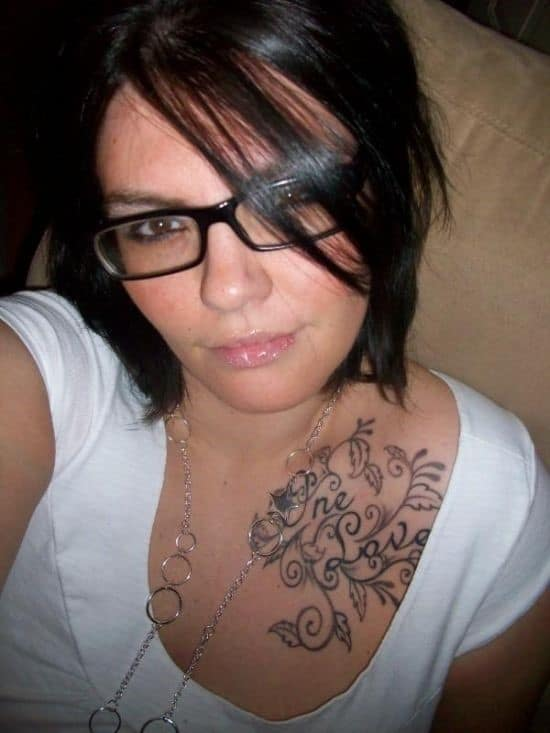 Sexy-One-love-collar-bone-tattoo-for-women