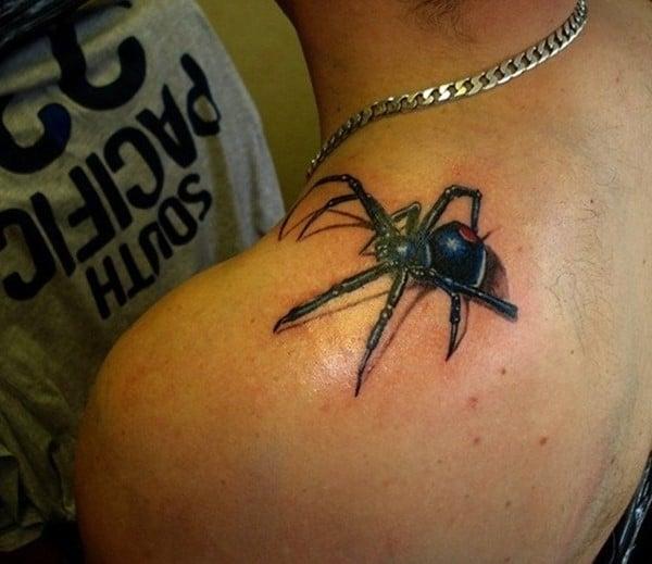 shoulder-spider-tattoo-ideas-520x450