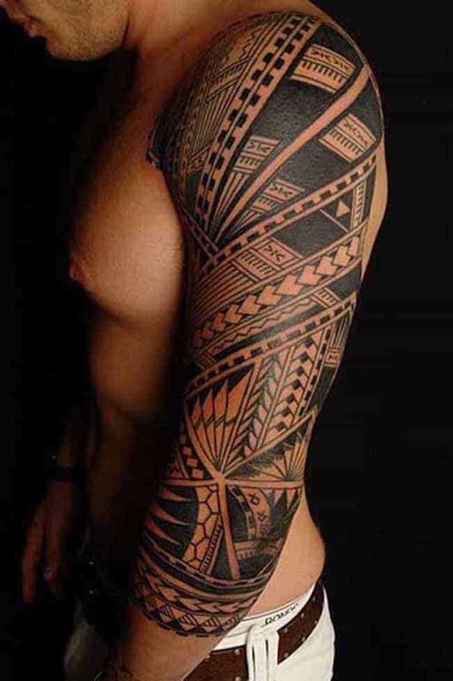 3d-celtic-tribal-sleeve-tattoos