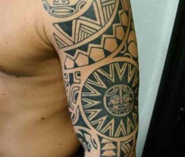 Another Fantastic Polynesian Tribal Tattoo
