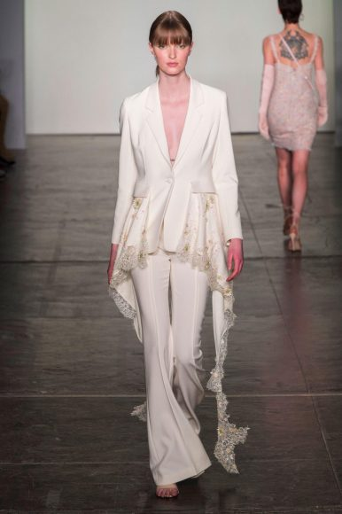 Bibhu Mohapatra NYFW 2018 kasey ma thestylewright