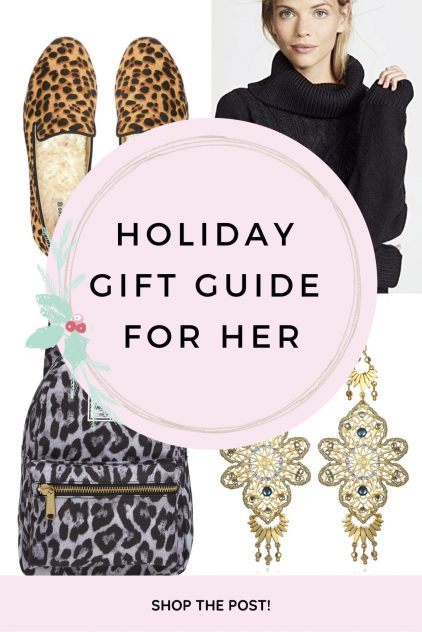 holiday gift guide for her gymshark sequin jewelry christmas gifting female lady presents jewelery handbags jw pei kasey ma thestylewright sephora sunday riley leopard cheetah gift ideas