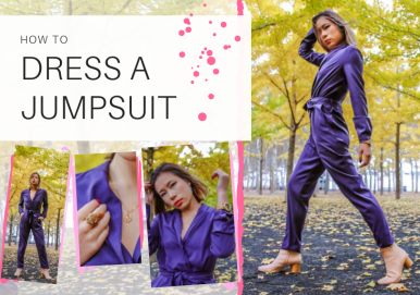 kasey ma of thestylewright talks about different ways to style a jumpsuit