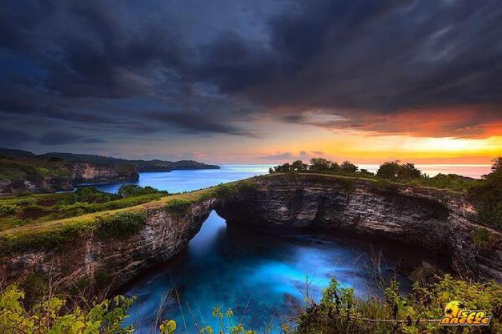 The Broken Sea in Bali Indonesia
