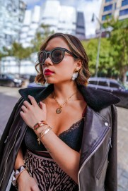 Kasey Ma of The StyleWright rocking her 3rd look at New York Fashion Week