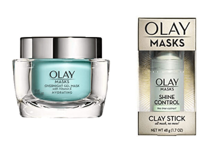 Olay Face Masks that Kasey is sending for her Beauty Giveaway
