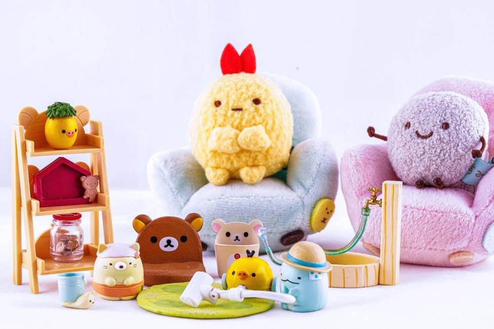 Sumikko Gurashi collection of mini plushies