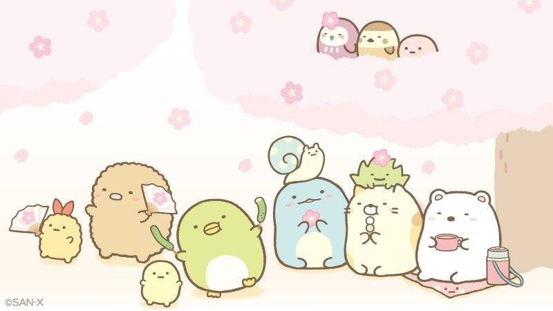 Sumikko Gurashi characters by San-x in a Cartoon