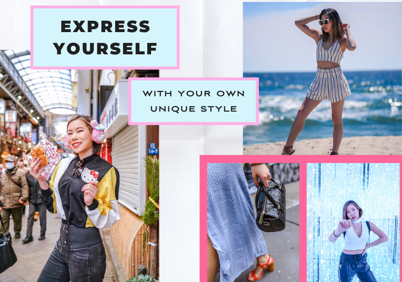 kasey ma of thestylewright writing about how to express yourself with your own unique style