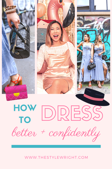 kasey ma of thestylewright talks abuot how to dress better and more confidently