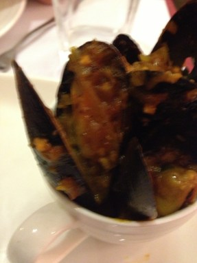 I love mussels