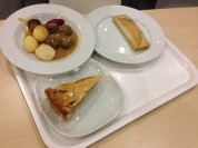 """Ikea food, husband had to try the """"burrito""""- yuck. Apple pie was ok though!"""